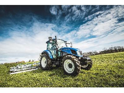 New Holland lanza las gamas de tractores T5 Utility  y T5 Electro Command Fase V aumentando su potencia