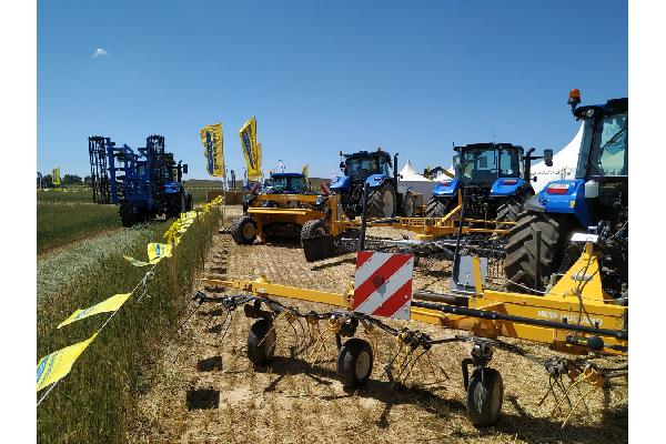 Gran despliegue de New Holland en Demoagro 2019