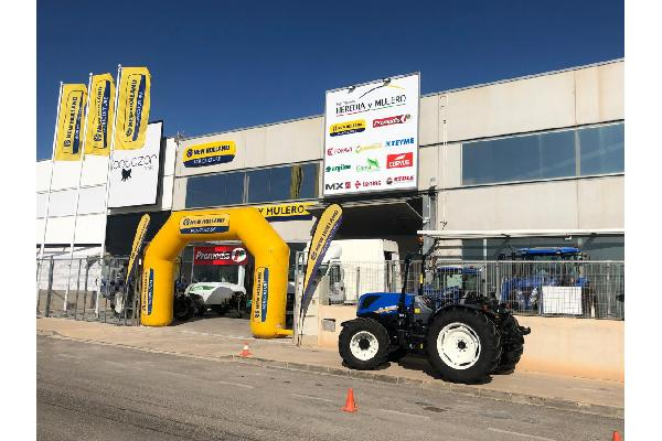 Inauguración nuevas instalaciones de Hermanos Heredia y Mulero en Torrepacheco (Murcia)
