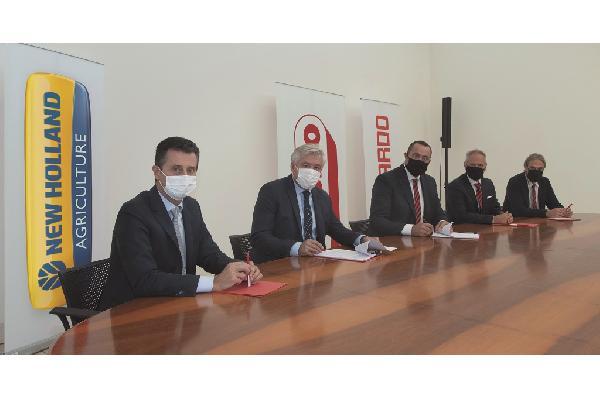 New Holland Agriculture firma un exclusivo acuerdo de suministro con Maschio Gaspardo